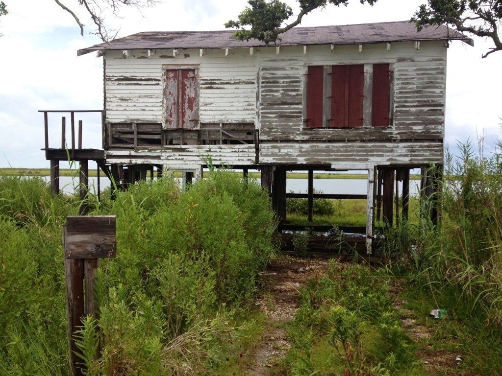 Abandoned House on Pilings
